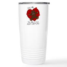 Hug Me, Meat Creature Travel Mug