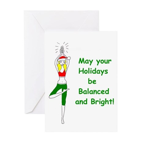light bulb Greeting Cards