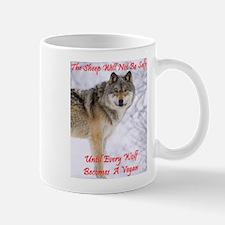 The Wolf - A Vegan Mug