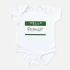 My Name is Peanut Infant Bodysuit
