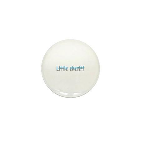 Little Sheriff Mini Button (100 pack)