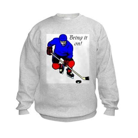 """""""Hockey"""" Kids Sweatshirt"""