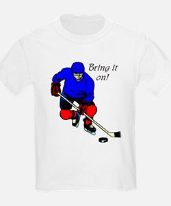 """Hockey"" Kids T-Shirt"
