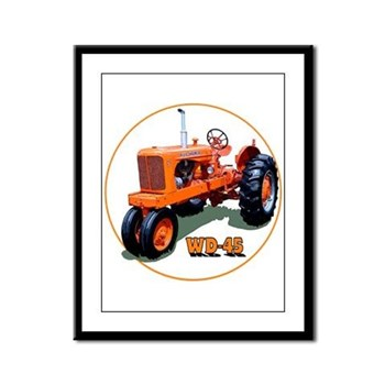 The Heartland Classic WD-45 Framed Panel Print