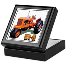 Unique Allis chalmers Keepsake Box
