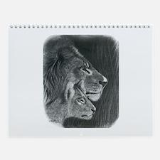 Lions Wall Calendar