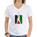 The Must of VICTORY Women's V-Neck T-Shirt