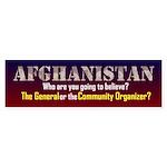 Afghanistan Bumper Sticker