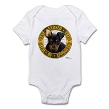 Min Pin Puppy Infant Bodysuit
