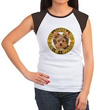 Yorkie Women's Cap Sleeve T-Shirt