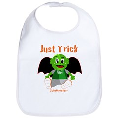 CuteMonster Halloween Bib