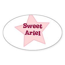 Sweet Ariel Oval Decal