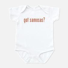 got samosas? Infant Bodysuit