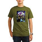 Sanskrit Om Wheel Organic Men's T-Shirt (dark)