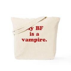 Vampire BF Tote Bag