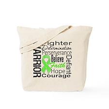 Collage Lymphoma Warrior Tote Bag