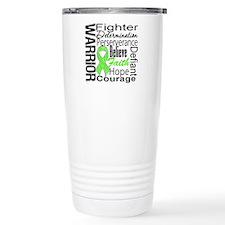 Collage Lymphoma Warrior Travel Mug