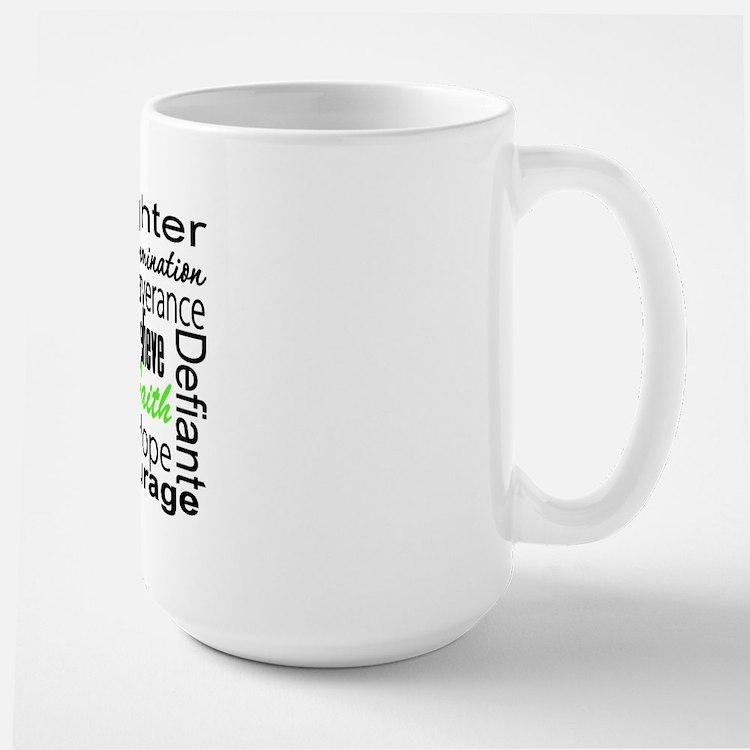 Collage Lymphoma Warrior Mug