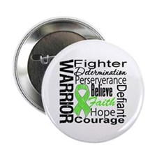 """Collage Lymphoma Warrior 2.25"""" Button (10 pack)"""