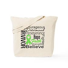 Collage Lymphoma Survivor Tote Bag