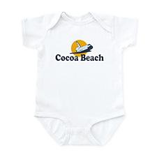 Cocoa Beach FL Infant Bodysuit