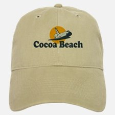 Cocoa Beach FL Baseball Baseball Cap