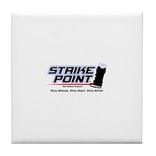 Funny Rape prevention Tile Coaster