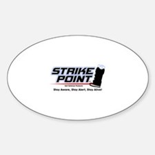 Cute Rape prevention Sticker (Oval)