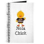 Fleur de Lis Nola Chick Journal