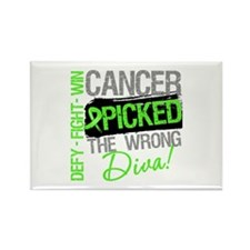 Lymphoma Diva Rectangle Magnet