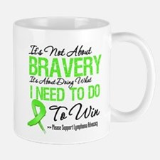 Lymphoma Bravery Mug