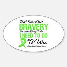 Lymphoma Bravery Decal