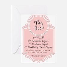The Boob Greeting Card