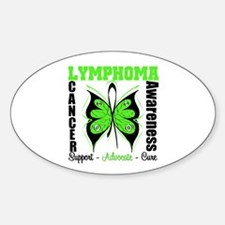 Butterfly - Lymphoma Decal