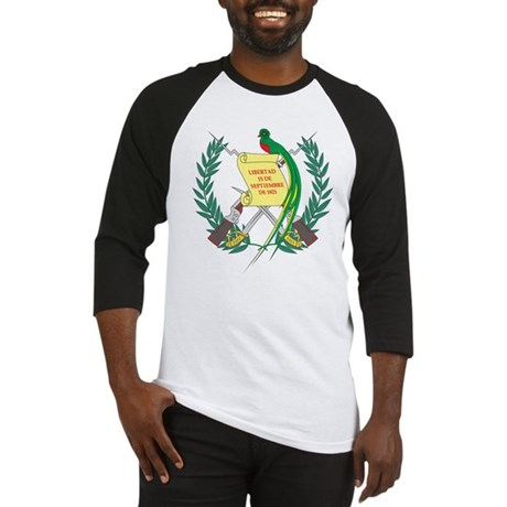 Guatemala Coat Of Arms Baseball Jersey