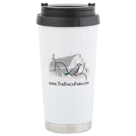 The Finch Farm's Stainless Steel Travel Mug