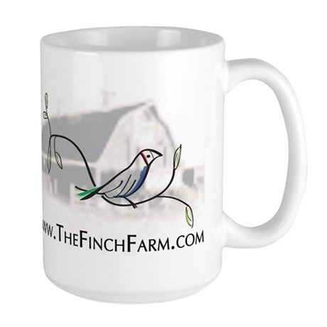 The Finch Farm's Large Mug