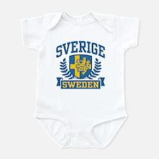 Sverige Sweden Infant Bodysuit
