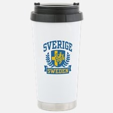 Sverige Sweden Travel Mug