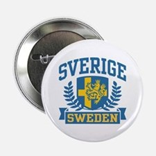 "Sverige Sweden 2.25"" Button"