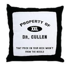 Dr. Cullen Throw Pillow