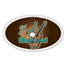 Bluegrass Oval Decal