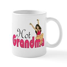 Hot Grandma Small Mugs