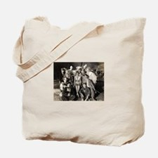 Vintage Clowns Tote Bag