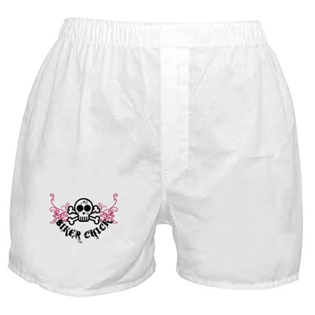 Biker Chick Boxer Shorts