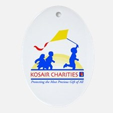 Cute Charities Oval Ornament