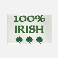 100% IRISH Rectangle Magnet