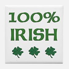 100% IRISH Tile Coaster