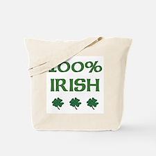 100% IRISH Tote Bag