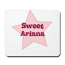 Sweet Ariana Mousepad
